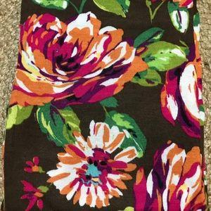 Vera Bradley Knit Scarf English Rose-NWOT